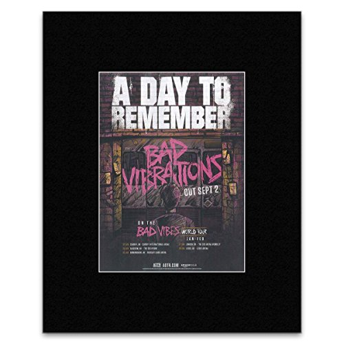 Kerrang Mini-Poster A Day to Remember - Bad Vibrations 40,5 x 30,5 cm