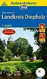 Radwanderkarte BVA Radwandern im Landkreis Diepholz 1:50.000, reiß- und wetterfest, GPS-Tracks Download (Radwanderkarte 1:50.000)