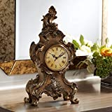 Kensington Hill Taryn Vintage Style 16 1/4' High Table Clock