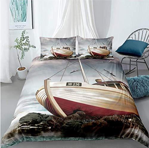 NTT Duvet Cover 3D Bedding Set Racing Car Printing Bed Set Queen Twin Full Duvet Cover With Pillowcase Set Home Textiles 150 * 200 Cm