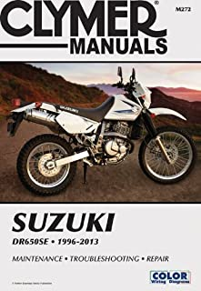 Suzuki DR650SE 1996-2013 Technical Repair Manual (Clymer Motorcycle Repair)