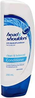 NEW Head & Shoulders Hair Conditioner Clean And Balanced Conditioner 200mL