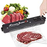 Vacuum Sealer Machine, TTDC Automatic Food Sealer System with 20 Sealing Bags 2020 Upgraded Food Vacuum Air Sealing System for Food Preservation Dry & Moist Food Storage Saver