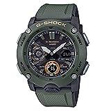 Casio Reloj Analógico-Digital para Hombre de Cuarzo con Correa en Resina GA-2000-3AER