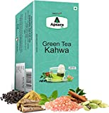 APSARA Kahwa Green Tea | Immunity Boosting Properties | Antioxidants Properties | 36 Tea Bag