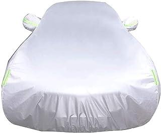Generic Brands Telo Copriauto da Esterno Alluminio Argento Parasole Mezza Car Cover Evitare Che Il Calore Dom Pioggia Neve Taglia M L XL Copriauto Antigrandinecopriauto Sole Size : M