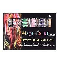 使い捨てヘアコームマルチカラー染料スティックオプションの染料ヘアチョーク着色剤コームヘアスタイリング染料コーム