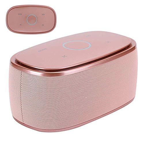Bluetooth Speaker, multifunzionale sport esterni mini altoparlante portatile della famiglia altoparlante senza fili for la casa, esterna, di viaggio, ecc (oro rosa) jianyou ( Color : Rose gold )