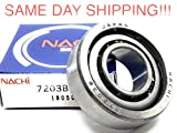 NACHI 7203B Bearing Angular Contact 7203 Ball Bearing Low Friction Axle BB Fast