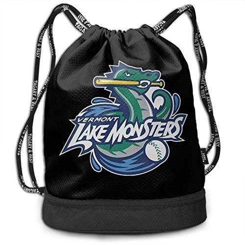 L-A-K-E M-O-N-S-T-E-R-S Beam Mouth Backpack&Drawstring