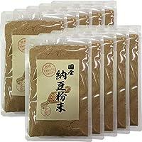 【国産100%】納豆粉末 50g×10袋セット 北海道産大豆使用 巣鴨のお茶屋さん 山年園