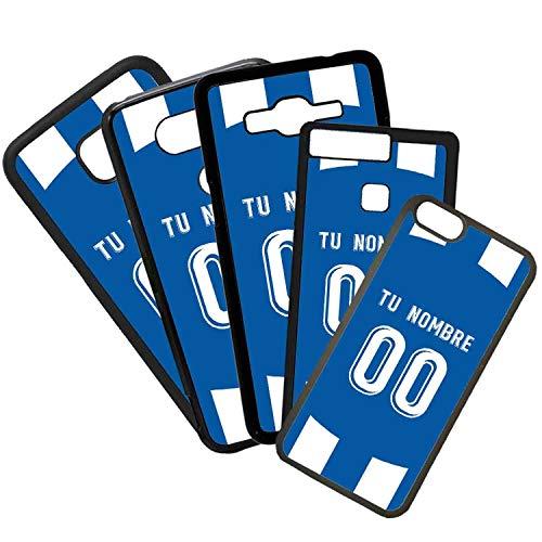 elhuron Carcasas De Moviles Fundas De TPU Compatible con El Modelo de Movil Samsung Galaxy J5 2016 Camiseta de Fútbol Espanyol con El Nombre y Numero Que Quieras