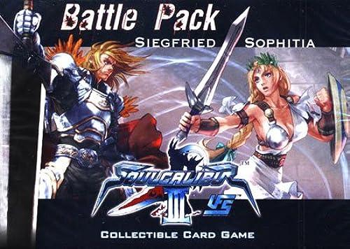 Sabertooth Games 6110 - UFS Soul Calibur III  Soul Calibur III Battle Pack