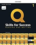 Q Skills for Success (3rd Edition). Reading & Writing 1. Student's Book Pack (Q Skills for Success 3th Edition)