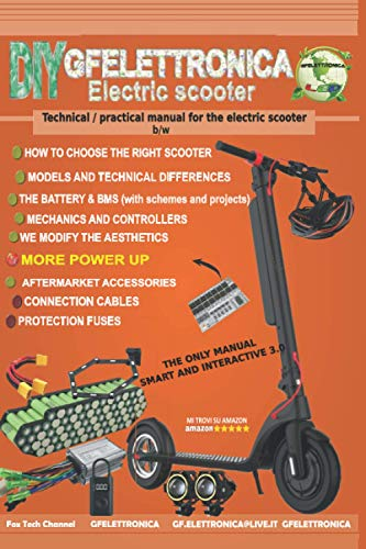 Technical / practical manual for the electric scooter b/w