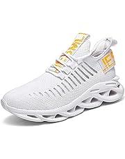 KAWAI Sportschoenen voor heren, hardloopschoenen, fitness, loopschoenen, ademend, antislip, mode, vrijetijdsschoenen, sportschoenen, outdoor, lichtgewicht sneakers