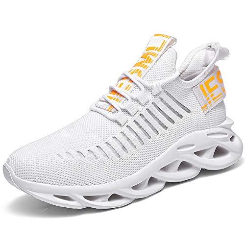 Fhrushg Scarpe da Ginnastica Corsa Sportive Running Sneakers Traspiranti Scarpe per Correre Uomo Scarpe Corsa Mesh Casual All'Aperto