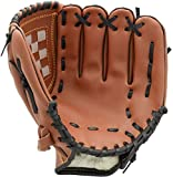 Acidea 11.5 Inch Softball Gloves with Soft Solid PU Leather Thickening Pitcher Softball Gloves for Child Teens Adult Professional Baseball Mitt for Catching Right Hand Throw
