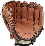 Acidea 11.5 Pouces Gant de Baseball Durable Cuir Pichet Pichet épaississant à Gauche à la Main Gant de Baseball pour Adulte Jeunesse Enfants pour Recueillir