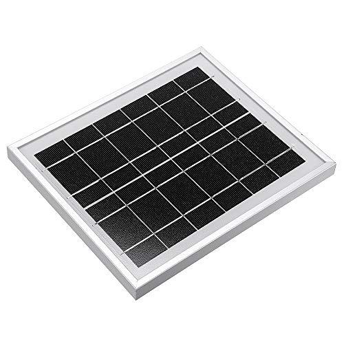 Módulo electrónico Nuevo panel solar 6V 5W 156 Vidrio templado de células...