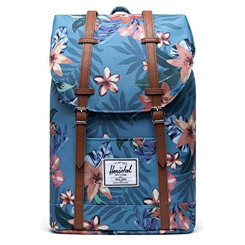 Herschel Retreat Backpack Summer Floral Heaven Blue