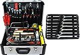 Famex Werkzeug 720-89 Mechaniker Werkzeugkoffer mit Top-Werkzeugbestückung