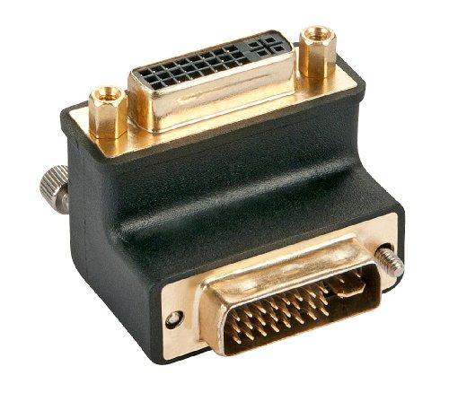 LINDY - Adaptador de Cable DVI-I Macho a DVI-I Hembra