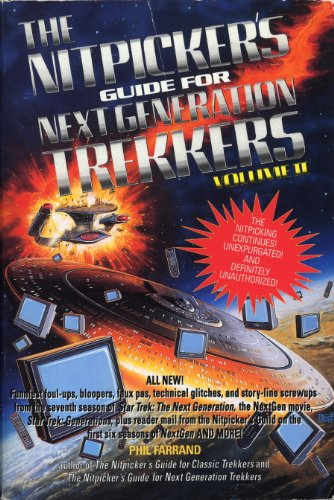 The Nitpicker's Guide for Next Generation Trekkers Volume 2 (Nitpicker's Guides) (English Edition)