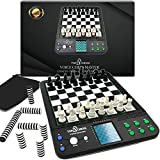 ⚜️ FAMILY FUN GAMES: Electronic chess set to improve all of your logic skills and brush up for your next competition, Kids or Adults can Play Against. Keep the whole family entertained with this Chess Computer. ⚜️ BOARD GAMES FOR KIDS: Electronic che...