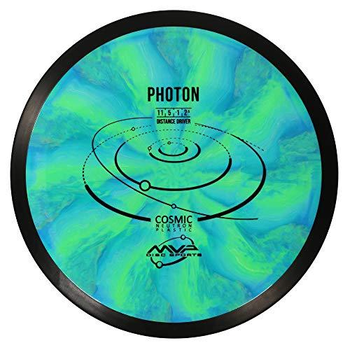 MVP Disc Sports Cosmic Neutron Photon Disc Golf Driver (170-175g / Colors May Vary)