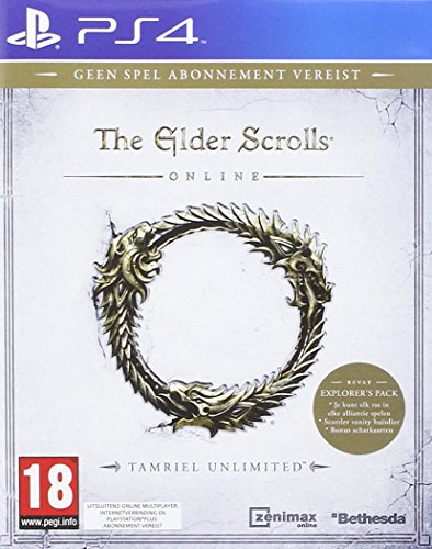 The Elder Scrolls Online : Tamriel Unlimited PS4