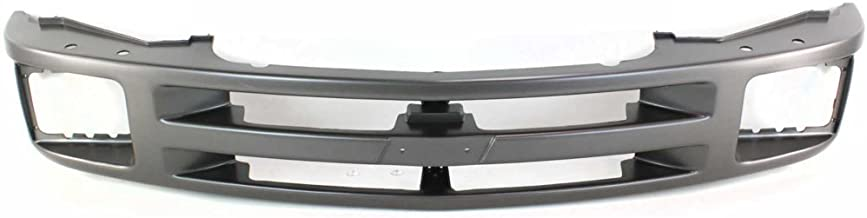 Grille Shell for Chevrolet Blazer 95-97/S10 Pickup 94-97 Painted-Gray W/Sealed Beam Headlight