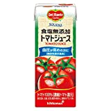 [Amazon限定ブランド] デルモンテ SOLANO 食塩無添加トマトジュース 200ml×24本 [機能性表示食品]