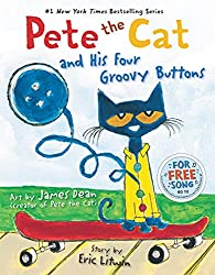 Pete the Cat and His Four Groovy Buttons, books for beginning readers