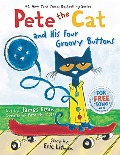 Product Image of the Pete the Cat and His Four Groovy Buttons