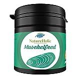 NatureHolic - Muschelfeed Muschelfutter - 30g - Futter für Süßwasser & Salzwasser Muscheln im Aquarium