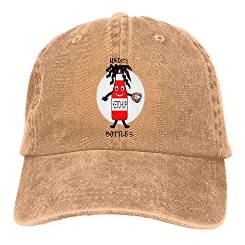 Jopath Hairy Ketchup - Cappellino da baseball, unisex, stile vintage, regolabile Naturale Taglia unica