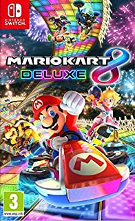 Mario Kart 8 Deluxe Edition Nintendo Switch by Nintendo