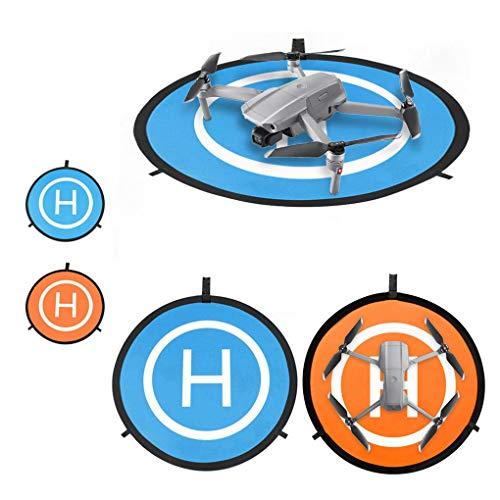 DJFEI Landing Pad für DJI Mavic Air 2/Air 2S Drone, Universal Waterproof 55cm Foldable Drone Leuchtende Funktion Landing Pad Landeplatz für DJI Mavic Air 2 /Air 2S/ DJI Mavic 2 Pro/DJI Mavic 2 Zoom