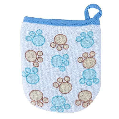 Esponjas para bebé Dibujos animados Ducha Mitones Suave Bebé Ducha de Baño Esponja Cepillo de Baño Cepillo de Algodón para Recién Nacido Niño (footprint)