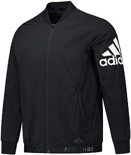 adidas 阿迪达斯外套男装 春季 运动服舒适休闲训练舒适耐磨开衫夹克