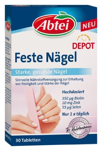 Abtei Feste Nägel Tabletten, 30 St