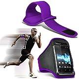 I-Sonite (Dark Purple) Adjustable Sweatproof/Water