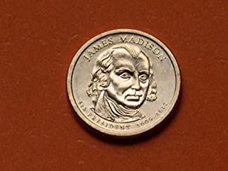 james madison 4th president coin