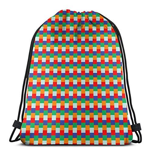 ZZHOO Drawstring Gym Sport Bag Bowling Sport Fashionable Travel Bag for Unisex Canvas Bag Drawstring
