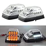 Front Wing Turn Signal Lights - Clear LED Sequential Turn Signal Corner Light For W463 G-Class G55