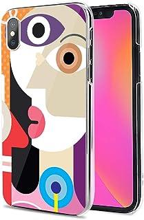 LG G8X ThinQ ケース カバー ハード TPU 素材 おしゃれ かわいい 耐衝撃 花柄 人気 全機種対応 抽象画派05 ファッション 11903770