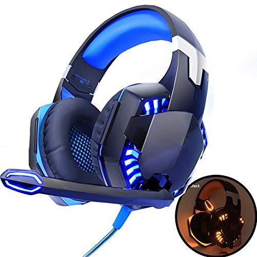 Gaming Headphones Deep Bass Stereo Headset Bedrade Gamer Oortelefoon Met Achtergrondverlichting Voor PS4 Telefoon PC...