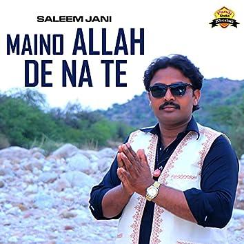 Maino Allah De Na Te - Single