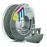 Eolas Prints | Filamento PLA 1.75 | Stampante 3D | Made in Europa | Adatto per l'uso con alimenti e creare giocattoli | 1,75 mm | 250g | Grigio